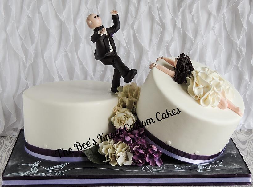 Kick the cake!