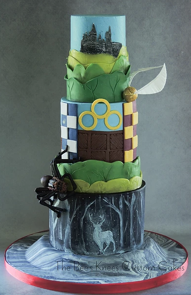 Wizard wedding cake