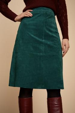 Juno Skirt Suede (Wildleder)