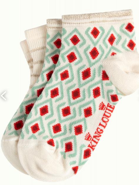 Socks Short 2-Pack Mosaik