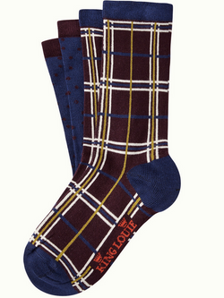Socks 2-Pack Rowing Dazzling Blue