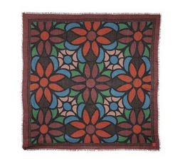 Modal Wool Gotic Flower