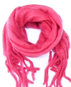 Kuschel Schal Pink