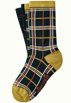 Socks 2-Pack Rowing Sycamore Green