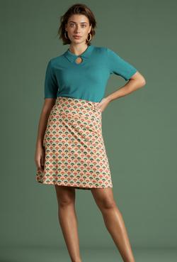 Border Skirt Carmel