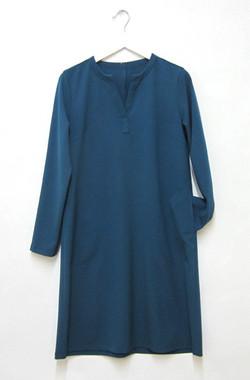Tunika Kleid mit Taschen