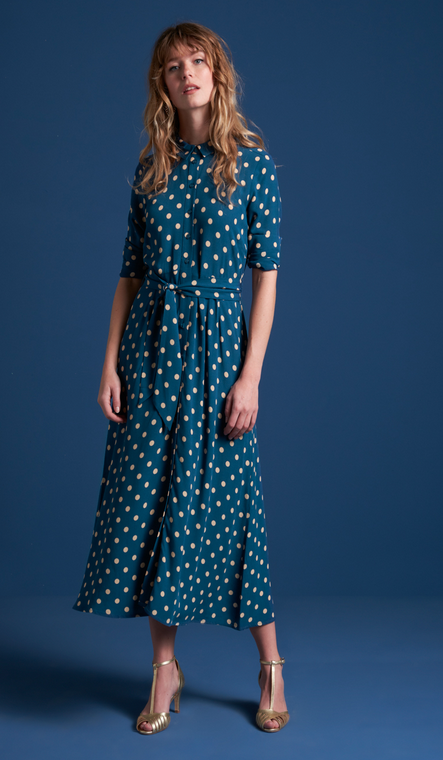 Rosie Midi Dress Polkadott