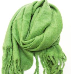 Kuschel Schal Hellgrün