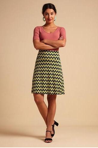 Border Skirt Namaste