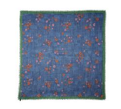Wool Gauge Square Flower