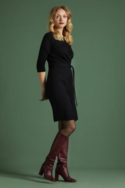 Hailey Dress Milano Crepe