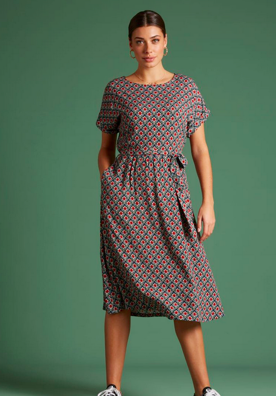 Betty Dress Loose Fit Palmer