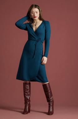 Mandy Wrap Dress Milano