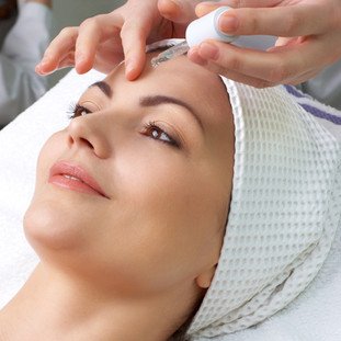 refresh with a facial