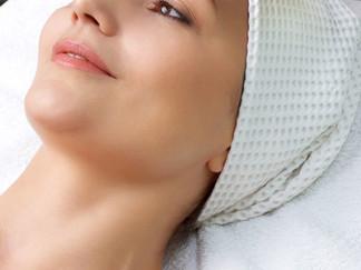 Hemsida på gång till hudvårdssalong
