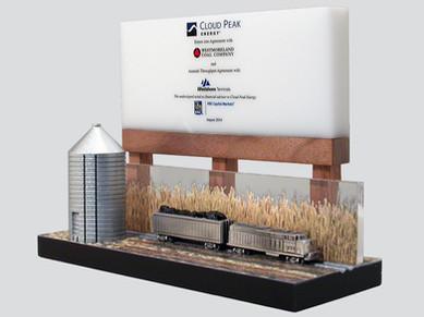 Farm Billboard & Silo