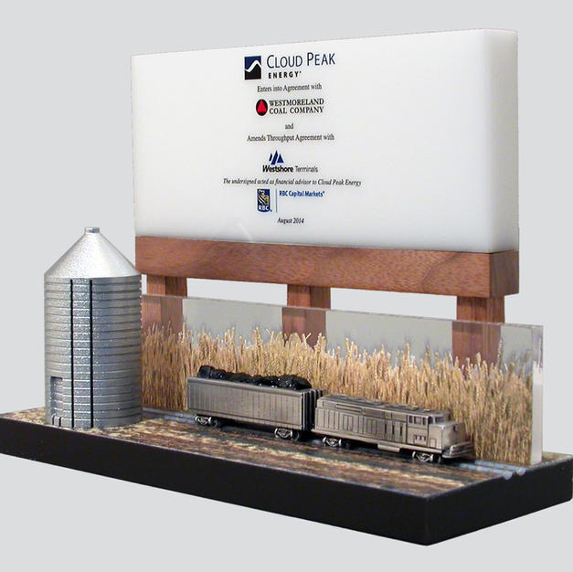 Farm Billboard & Silo