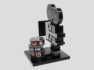 Movie Camera and Film