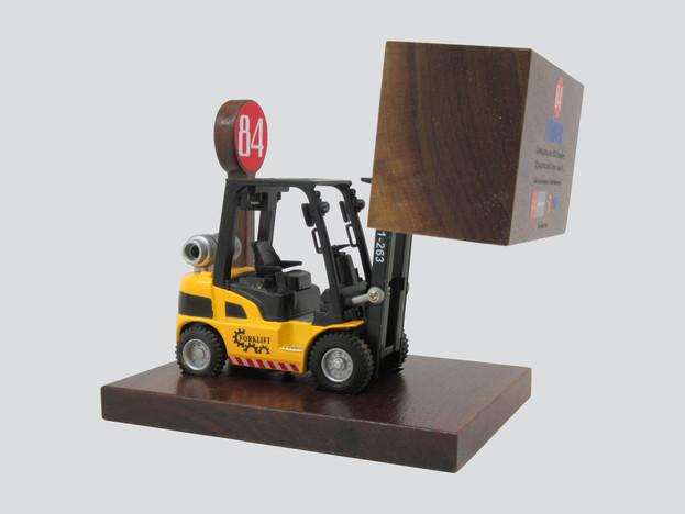 Lumber Yard & Forklift