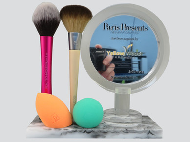 Vanity with Products