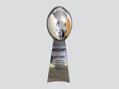 Metal Lombardi Trophy Replica