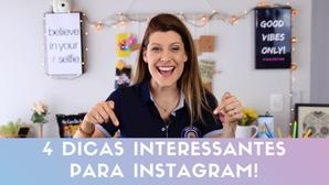 4 DICAS/ TRUQUES NO INSTAGRAMl: Dicas nos Stories para seu Instagram!