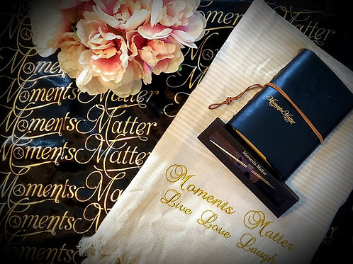 Moments Matter Luxury Journal and Power of the Pen package
