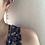 Thumbnail: 14KGF Rainbow Moonstone & Quartz Waterfall Earrings