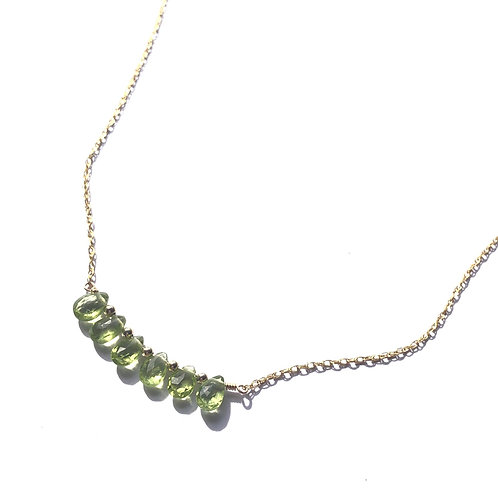 Period Bar Necklace