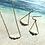 Thumbnail: 14KGF Puka Shell Bar Necklace