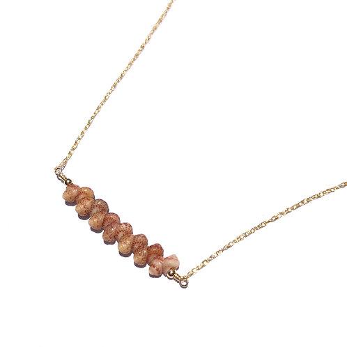 14K Gold Filled Kauai Kahelelani Shell Bar Necklace
