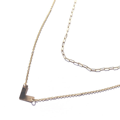 14KGF Layered Necklace