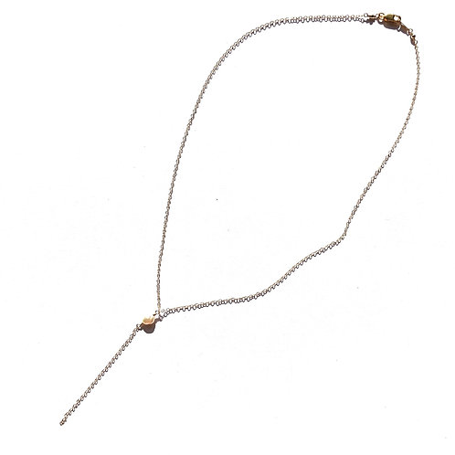 14KGF Edison Keshi Pearl Necklace 16""