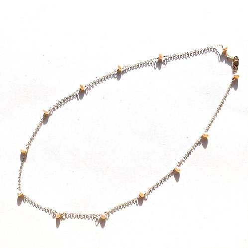 14KGF Freshwater Pearl Necklace 16""