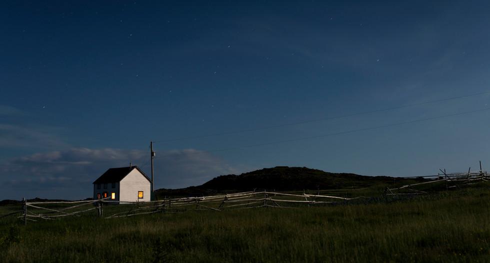 The Reardon House by night