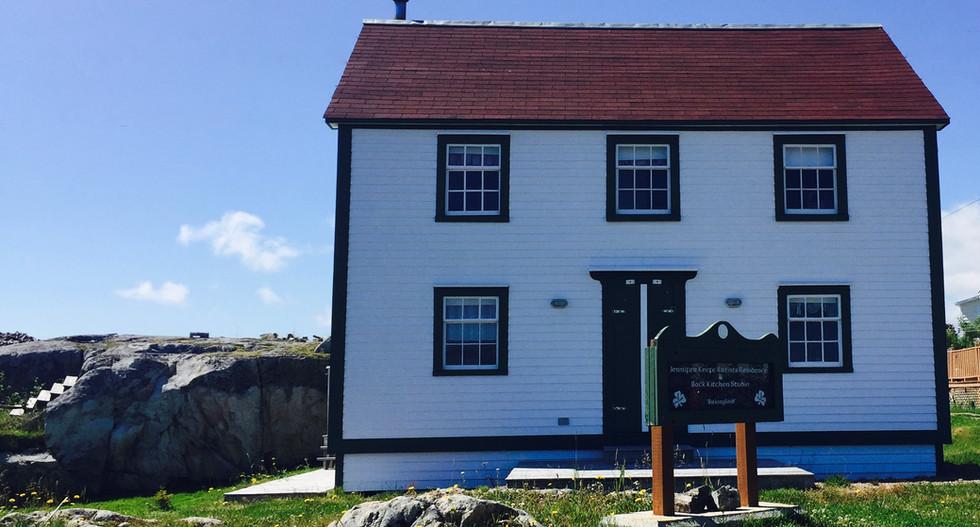The original Salt box House
