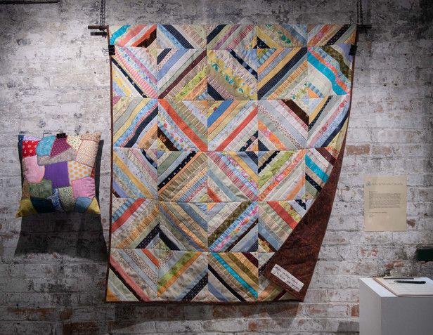 Quilt donated by Winds and Waves, Fogo Island.