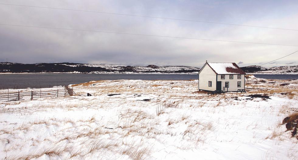 Winter at the Reardon House