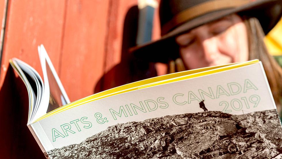 Arts & Minds Canada 2019 Book