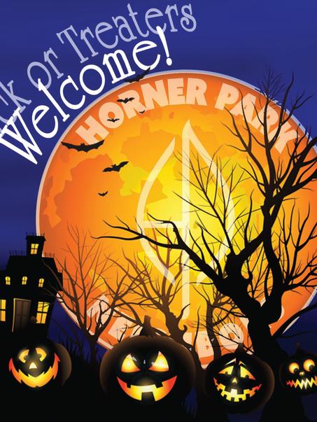 HPN Halloween Window Sign