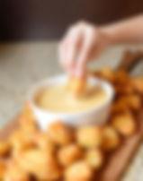 Pretzel Bites with Beer Cheese
