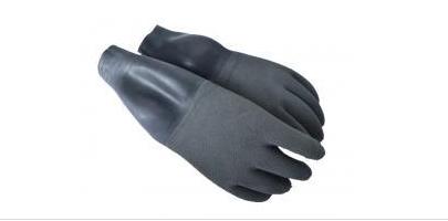 Santi Grey Dry Gloves with Wrist Seals