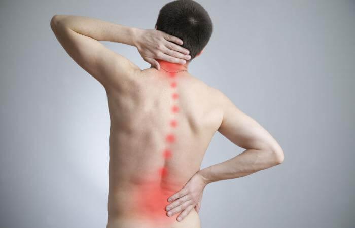 tratamento dor nas costas