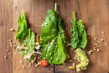 Quinoa with Spinach