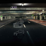 Shopping Trolly, Car Park. Midnight..jpg