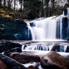 Blaen y Glyn Waterfall, Brecon Becons