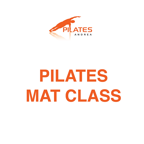 May 19, 9-10am, Pilates Mat Class