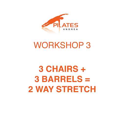 May 19, 10am-2pm, 3 Chairs + 3 Barrels = 2 Way Stretch