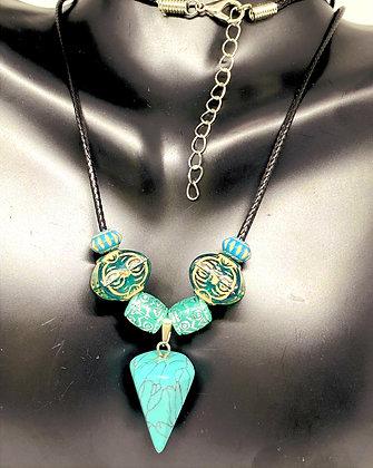 Turquoise Pendant Necklace