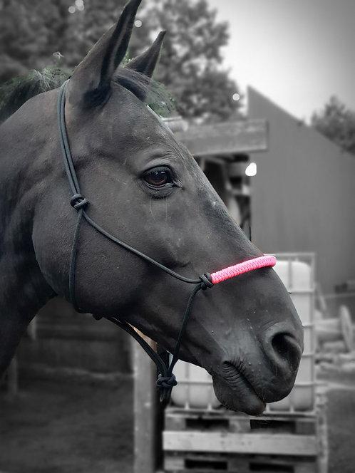 """Knotenhalfter """"Pink Lightning"""""""